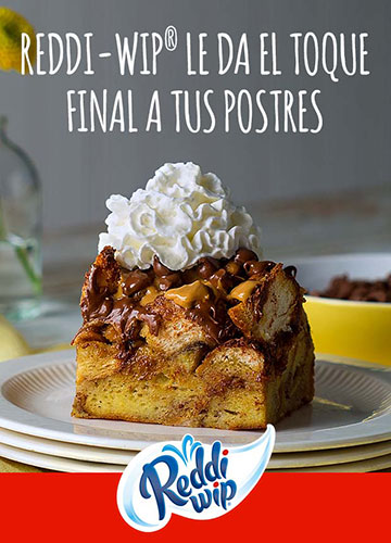 Reddi-Wip Le Da El Toque Final a Tus Postres