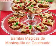 Barritas M��gicas de Mantequilla de Cacahuate
