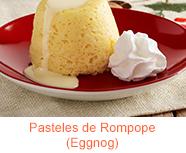 Pasteles de Rompope (Eggnog)