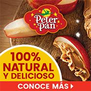 Peter Pan 100% Natural y Delicioso - Conoce M��s