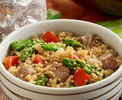 Steak & Asparagus Quinoa Bowl