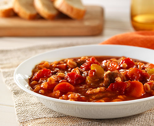 Hunt's Beef and Barley Stew